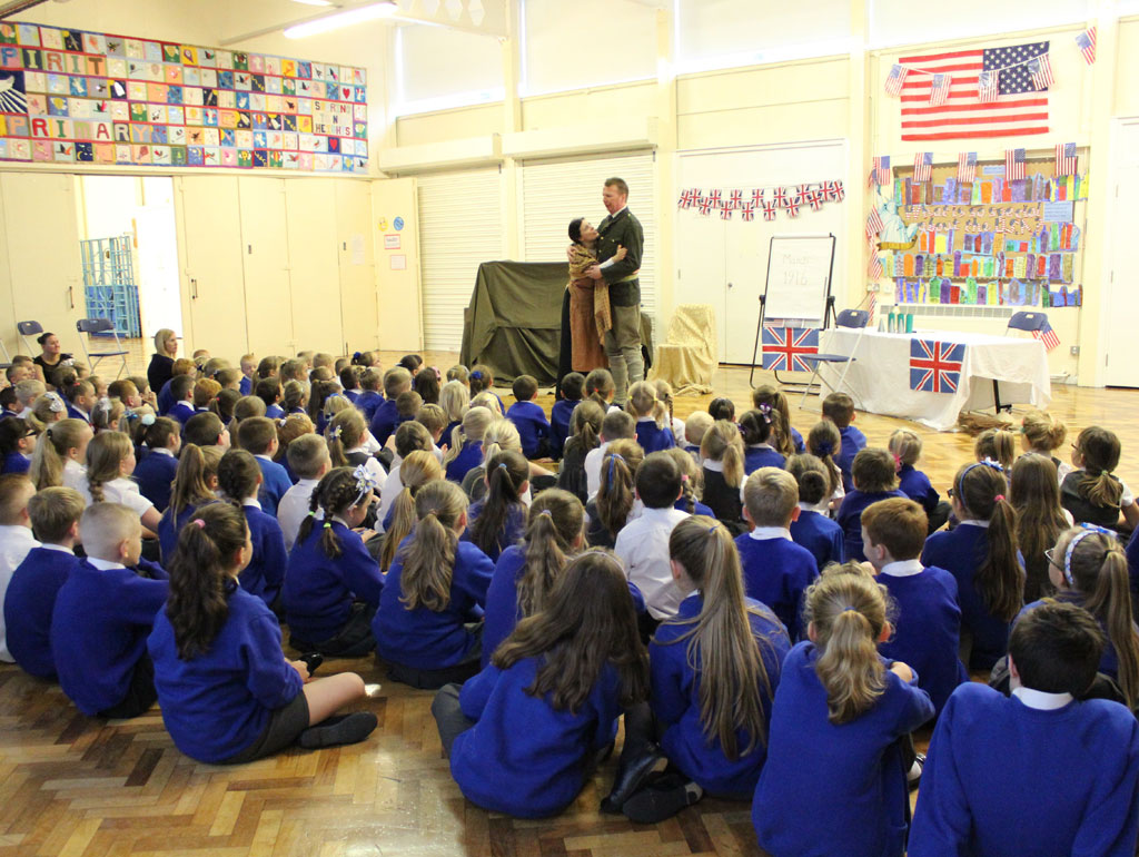 WWI Schools Play and Workshops – Living with the War