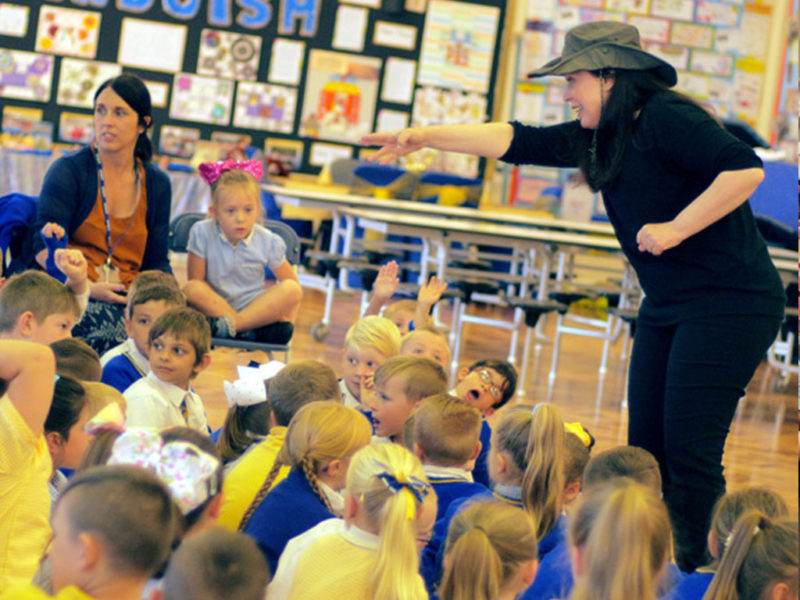 Creative History Workshops and Shows for Primary Schools