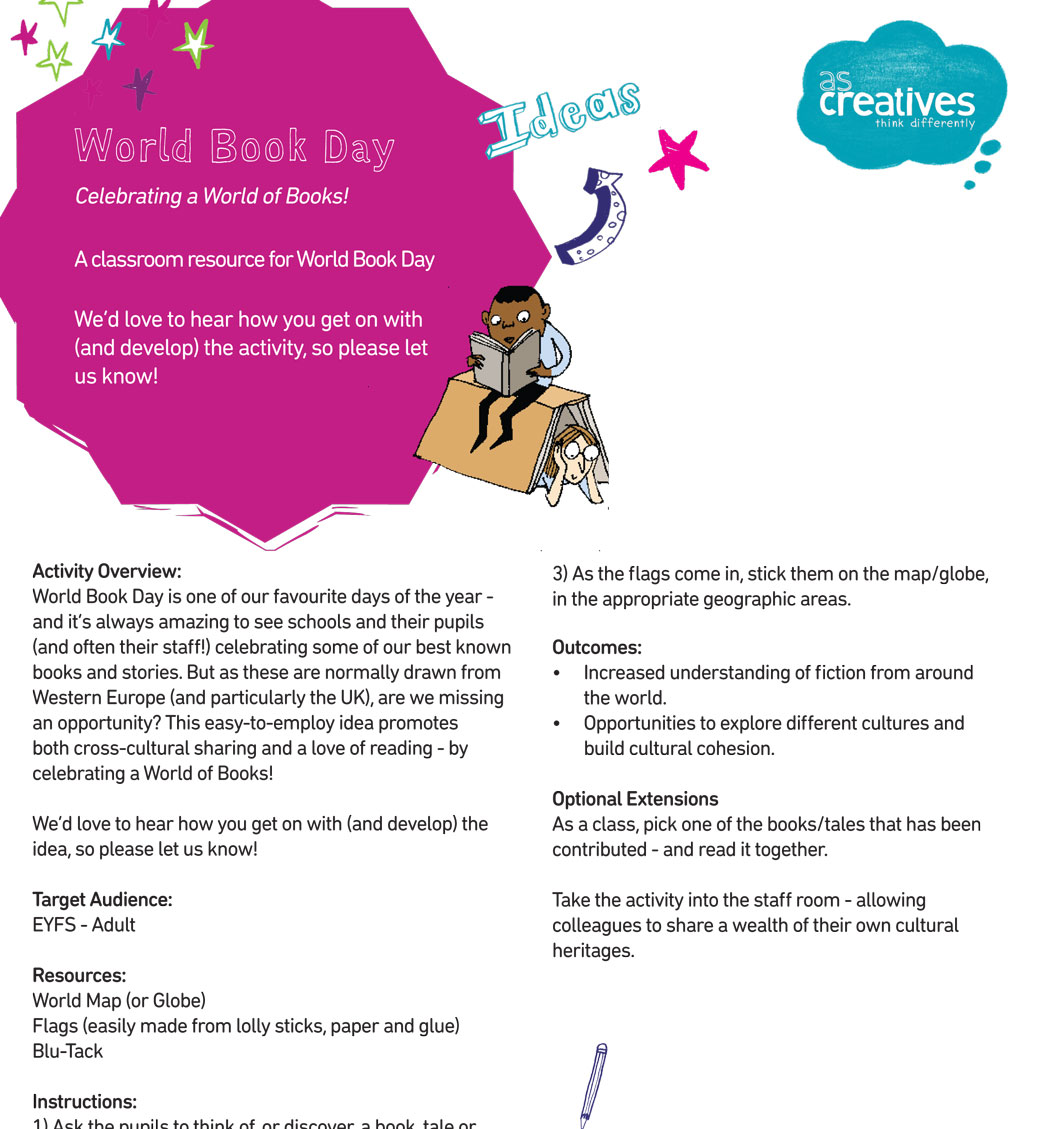 Classroom Resource: World Book Day – Celebrating a World of Books!