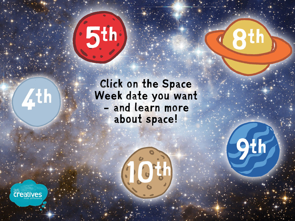 Teaching Resource: World Space Week: Interactive Powerpoint
